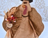Crosby, Turkey, Fall Decor, Thanksgiving, Doll