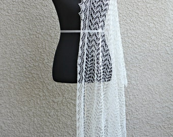 Wedding shawl, lace stole, knit wedding shawl, lace wedding shawl, bridal shawl, gift for her