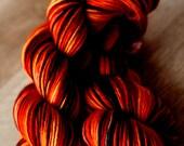 "DK Yarn Single - 100% SW Merino - Valentine's Day - ""Cuddling By The Fire"""