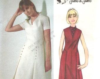 Jean Muir for Jane & Jane dress pattern -- Butterick Young Designer 3722