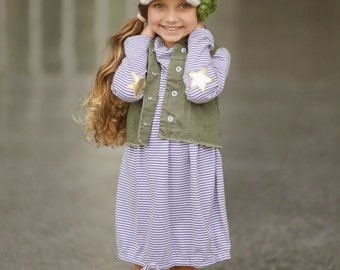 Children's Crochet Hat / Newsboy Hat with Flowers / Fall Fashion / Children's Hat