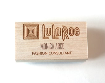 Lularoe Consultant Stamp, Customized with Your Name, Lularoe Logo, Approved Fonts, Lularoe Branding, Rubber Stamp or Self-Inking Stamp,