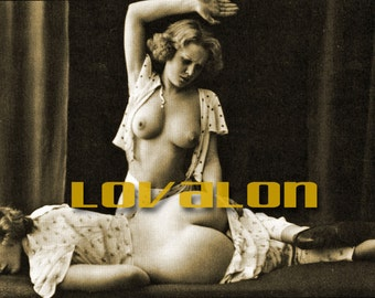 Naughty Nap Time... 1920's Vintage Erotic Fashion Photo... Deluxe PRINT... Available In Various Sizes