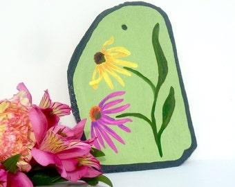 Echinacea Painting Etsy