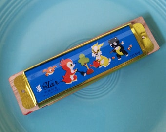 animal theme harmonica by Star