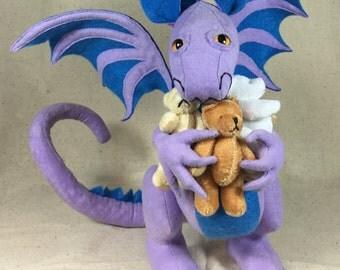 Dragon with Teddy Bears