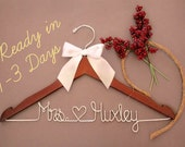Wedding Hanger | Bridal Hanger | Dress Hanger Wire | Personalized Custom Wedding Hanger | Personalized Hanger