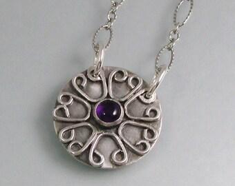 Carpe Diem hidden message necklace - secret message locket necklace - Seize the Day necklace - inspirational Latin quote necklace