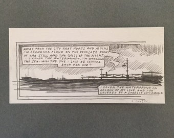 i cover the waterfront, 8x4