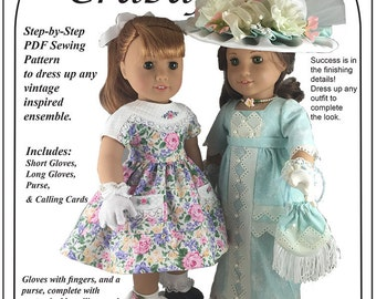 Dress it Up American Girl PDF Sewing Pattern