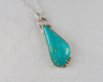 Turquoise Necklace Artisan Necklace Southwestern Jewelry Turquoise Jewelry Luxury Jewelry Artisan Jewelry
