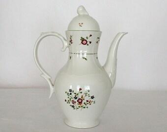 "Royal DoultonTea/Coffee Pot 64 fl. oz. Moselle Collection Avignon TC 1145 Floral Stands 10"""