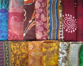 Surprise Bag of 10 Silk Remnants