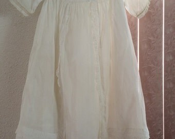 Vintage Christening Gown with slip
