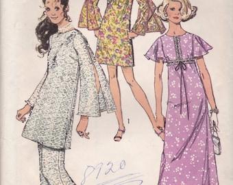Adorable Maxidress, Minidress or Tunic Pattern Simplicity 8831 Size 11/12 Uncut