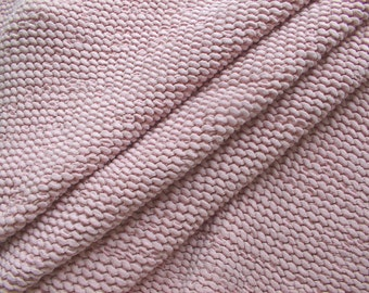 "Baby Pink ""Spongy""/""Ruffle"" half linen fabric,Shower Towel fabric,Baby Blanket Ruffle Fabric,Medium Weight,Softened,Prewashed,DIY projects"