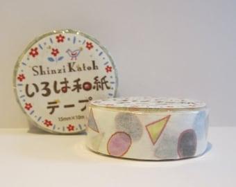 Japanese washi tape - glass beads by Shinzi Katoh