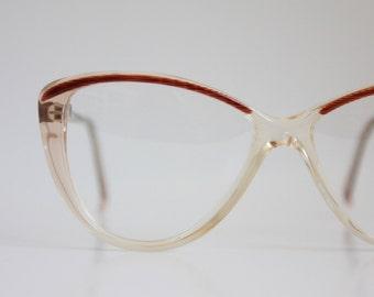 Vintage 80's Cat Eye Frames
