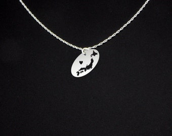 Japan Necklace - Japan Jewelry - Japan Gift