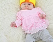 My First Easter, Duckling Baby Hat, Easter Baby Hat, Easter Outfits, First Easter Outfit, Babys First Easter, Easter Baby Clothes