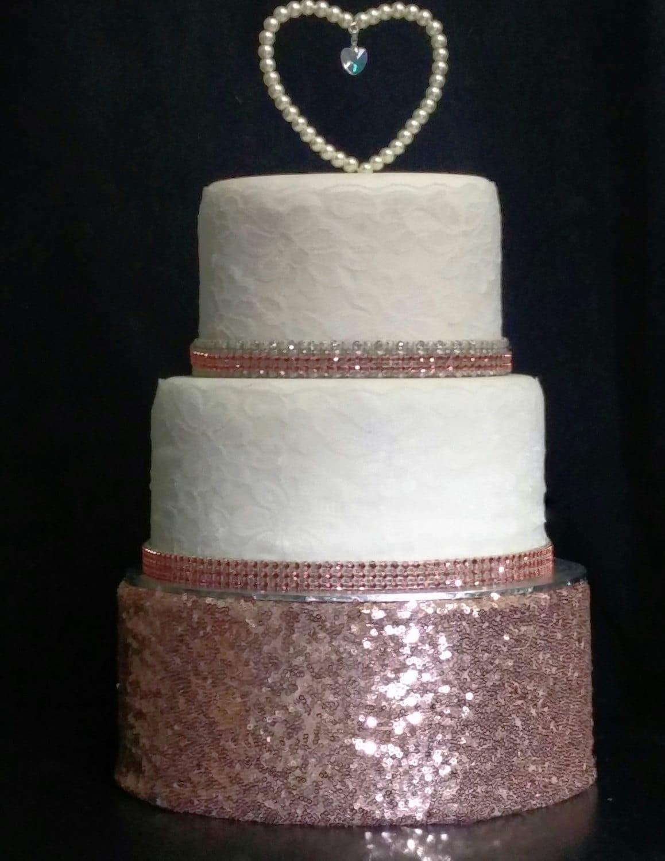 rose gold cake stand. Black Bedroom Furniture Sets. Home Design Ideas