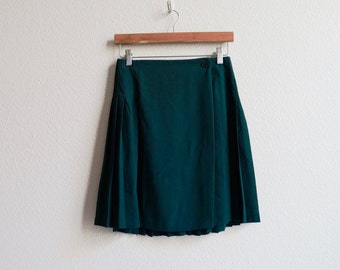 VTG Pleated Skirt 27""