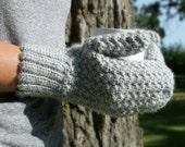 Womens Mittens, Crochet Mittens, Crochet Winter Mittens, Mens Mittens, Made to Order