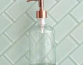 Copper Bird Head Apothecary Dispenser