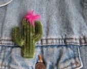 Cactus Brooch Cactus Pin Cacti