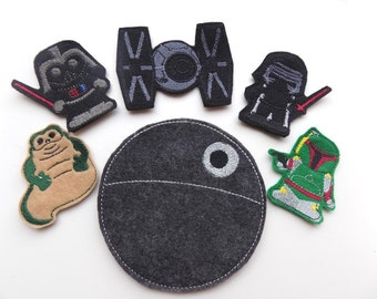 Death Star Finger Puppets and more