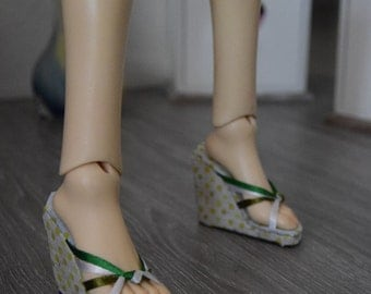 1/3 doll ~ Platform wedge heels sandals | BJD (SD)