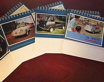 Vintage Subaru 360 Photography Desktop 2016 Calendar
