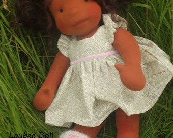 "Waldorf inspired doll called Jenny , 18"" tall"