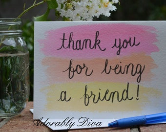 Thank You Friend