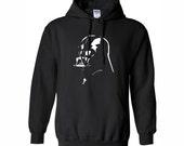 Star Wars Hoodie. Darth Vader Hoodie. Men's Clothing. Men's Hoodie.