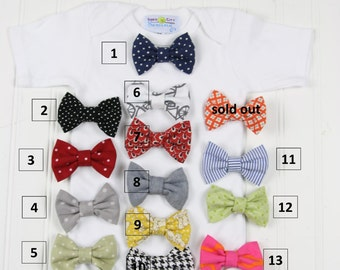 Additional Bowties for Snap on Bowtie Bodysuits