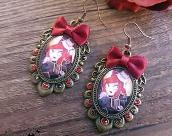 Praline earrings // yummi lolita jewelry // Handmade