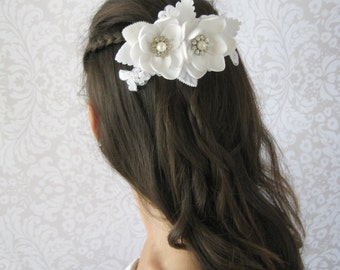 Bridal Hair Piece. Bridal Hair Comb. Wedding Hair Piece.
