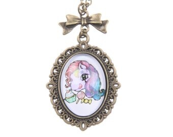 Collier petit poney