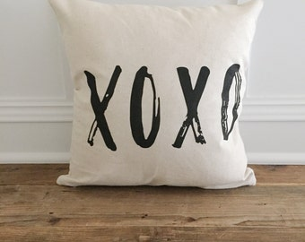 XOXO Pillow Cover