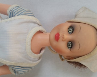 """15"""" Vintage Red Cross Nurse Doll"""