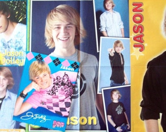 JASON DOLLEY ~ Helicopter Mom, Good Luck Charlie, Corey In The House, Hatching Pete, Minutemen ~ Color Pin-Ups, Posters for Scrapbooking