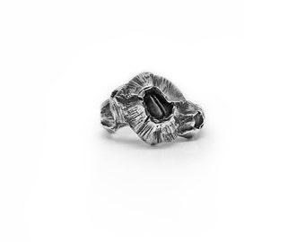 Sterling Silver Barnacle Ring, Crustacea Cirripedia Six