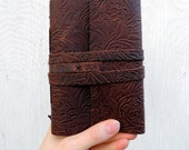 Leather Notebook | Leather Journal | Personalized Journal | Leather Sketchbook