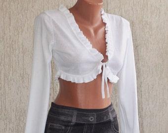 Vintage MEXX Knitted Mini Vest/Blouse, size S-M