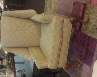Wing Back Chair,Custom Chair,Wing Back Linen Chair,Upholstery Chair ,Wing Back Leather Chair.
