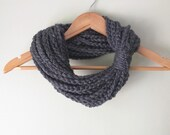 Gray Chain Scarf . Short ...