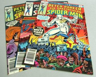 Peter Parker The Spectacular Spider-Man No. 9, No. 10, or No. 11, August, September, or October 1977, Marvel Comics