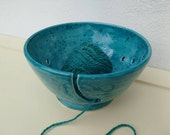 Pottery Yarn Bowl UK Knitting Bowl Handmade - ready to ship