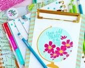 You Add Beauty to the World - teacher gift - gift set - back to school gift -globe